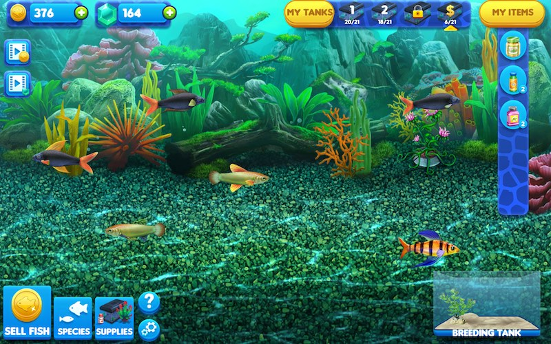 Fish tycoon 2 is here last day of work official forums for Fish tycoon 2